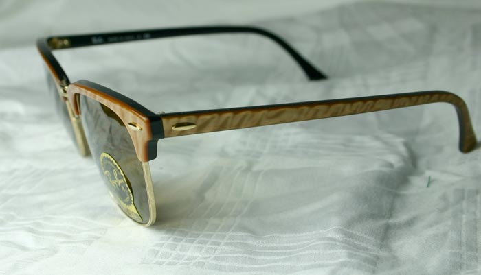 e91f867b810 Ray Ban Clubmaster Gold Marble
