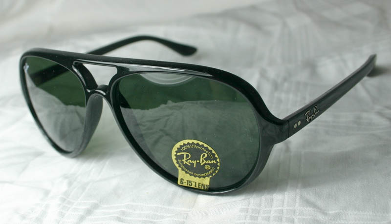 ray ban sonnenbrille cats 5000 rb 4125 601 neu ebay. Black Bedroom Furniture Sets. Home Design Ideas