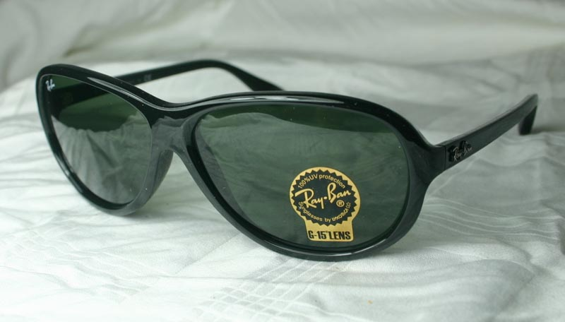 While thought art for Chinaman's Ray Ban Sunglasses persona is