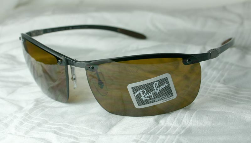 rb8306  RAY BAN SONNENBRILLE CARBON TECH *RB 8306 082/83* NEU