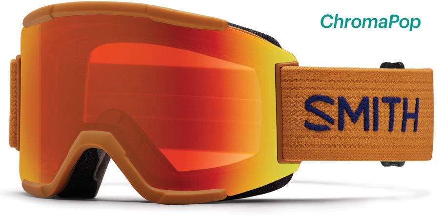ski snowboard goggles  2017 Smith Squad Ski Snowboard Goggles Cargo ChromaPop Everyday ...