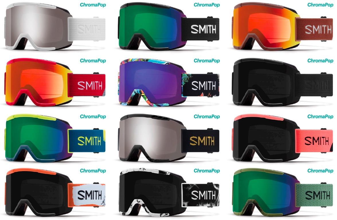 smith squad  Smith Optics Squad Ski Snowboard Goggles ChromaPop NEW | eBay