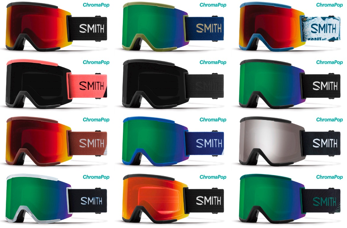 smith squad  Smith Optics Squad XL Ski Snowboard Goggles Chromapop New | eBay