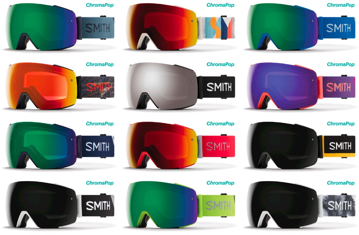 281cf1e74 Smith Optics I/o Mag Ski Snowboard Goggles New | eBay