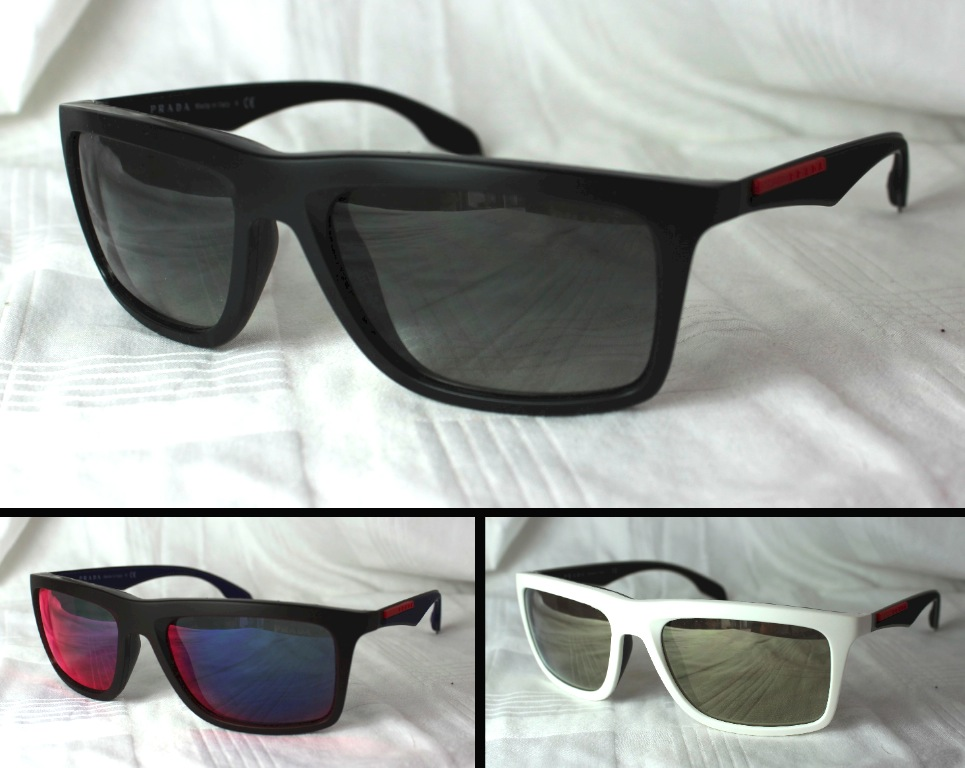 04ec79c5ac806 Details about Original Prada Sports Luxury Sunglasses SPS 02PS NEW  Different Colors