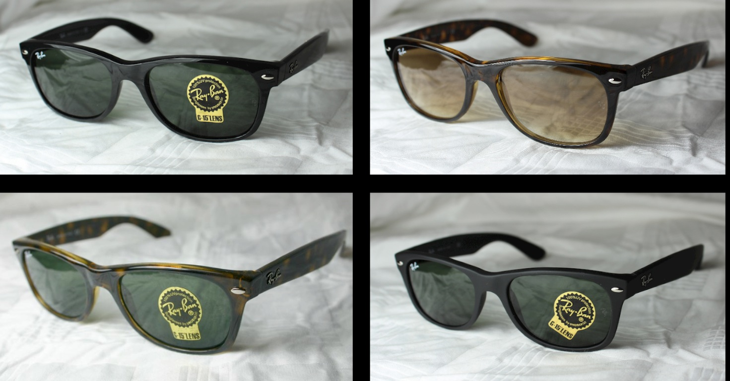bd1d2102aba ORIGINAL RAY BAN NEW WAYFARER RB 2132 NEW Gr.52 + 55