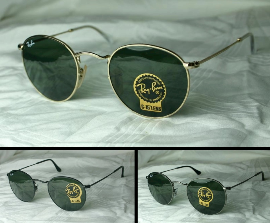 Original RAY-BAN SUNGLASSES RB 3447 New Size 47 +50 | eBay