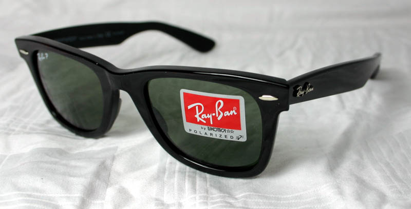 Details about Ray Ban Original Wayfarer RB 2140 901 58 sz. 54 NEW Black -  Polarized dc875ec4ce