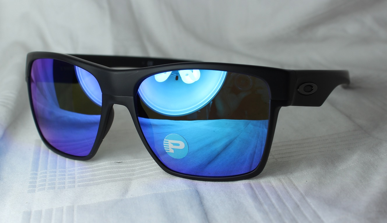 61d9cf83402 Details about Oakley Oo 9350-05 Twoface XL Mat Black - Sapphire Iridium  Polarized New