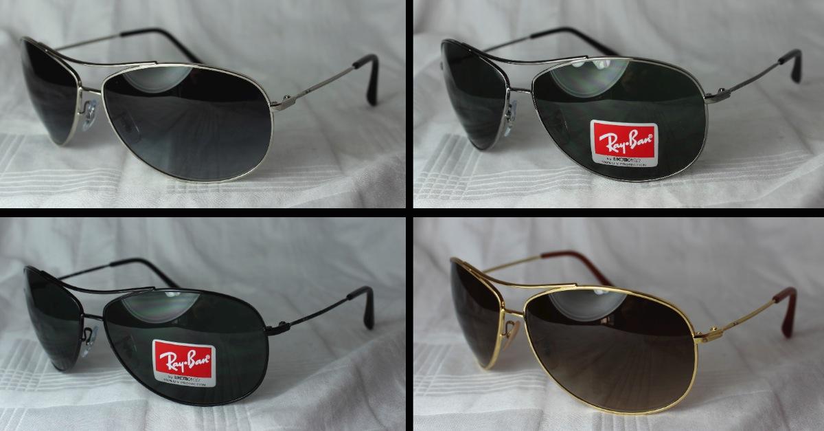 3402035911 Original Ray-Ban Sunglasses RB 3454E New Different Colors Aviator